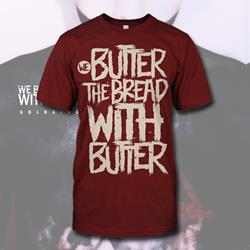 Destroyed Maroon T-Shirt