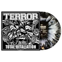Total Retaliation Black/White Side W/ Silver Splatter