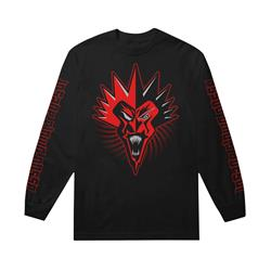 Hypnotic Red Fred Black Long Sleeve