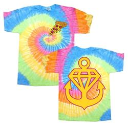 Pizza Eternity Tie Dye