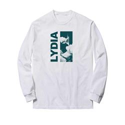Monroe White Long Sleeve T-Shirt