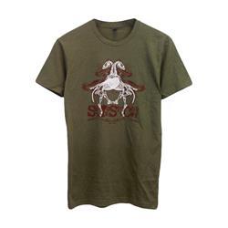 Horses Military Green