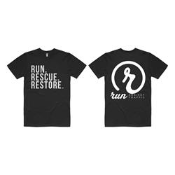 Run. Rescue. Restore. Black