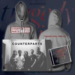 Tragedy Will Find Us CD + Hooded Sweatshirt + Poster