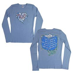 Winter Tour 2016 Blue Girl's Shirt