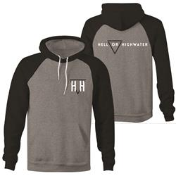 Logo Gunmetal Heather/Charcoal Heather