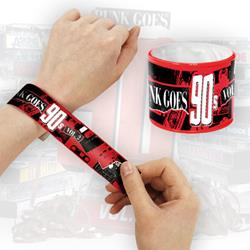 Punk Goes 90'S Vol. 2  Slap Bracelet *Final Print!*