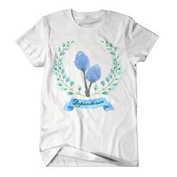 Wreath White T-Shirt
