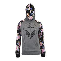Anchor Custom Floral Pullover
