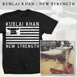 Kublai Khan - New Strength CD + T-shirt