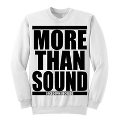 More Than Sound White *Sale! Final Print*