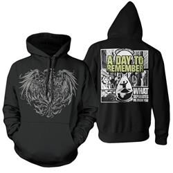 What Separates Me From You Black Hoodie