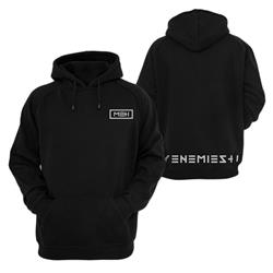 My Enemies And I Logo Black
