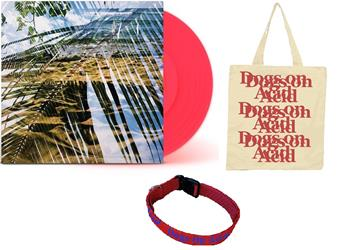 Dogs On Acid Opaque Red Vinyl + Dog Collar + Tote