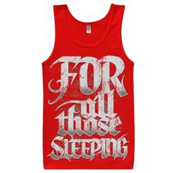 Logo Red Tank Top *Final Print!*
