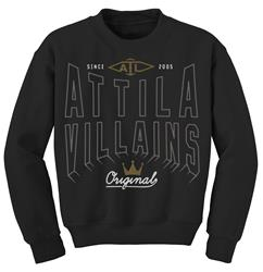 Original Villains Black Crewneck