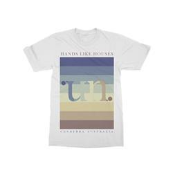 Color Bars White T-Shirt