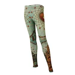 2015 Tour Green Leggings