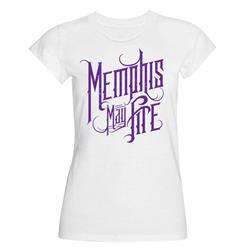 Logo White Girls Tee