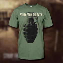 Grenade Army Green T-Shirt