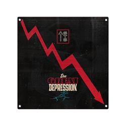 The Great Depression  40X40 Custom Wall Flag
