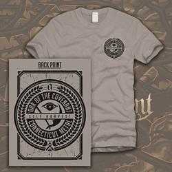 Crest Heather Grey T-Shirt *Final Print*