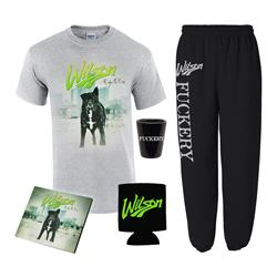 Right To Rise CD + Sweatpants + T-Shirt + Koozie + Shot Glass