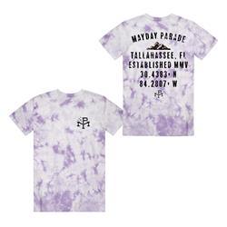 Coordinates Purple Tie Dye