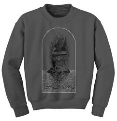 Rainy Island Charcoal Crewneck
