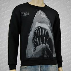 Shark Black Crewneck