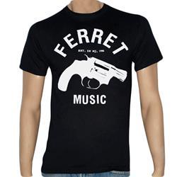 Ferret White Gun Black