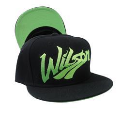 Wilson Black Snapback