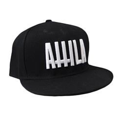 Crosses Logo Black Snapback Hat