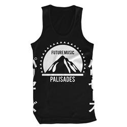 Future Music Black Tank Top