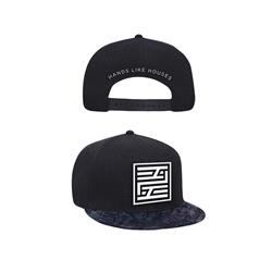 Dissonants Logo Black Snapback