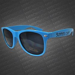Summer Camp Blue Sunglasses