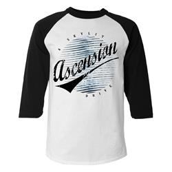 Ascension Black/White Baseball Tee