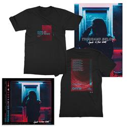 Gone In Your Wake T-Shirt + CD