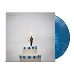 Overexposed Blue w/ White Splatter