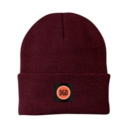 Logo Patch Maroon