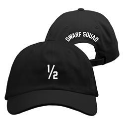 1/2 Dwarf Squad Black Dad Hat