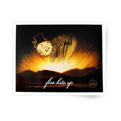 Fire Kite Poster w/ Tube