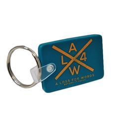 X Logo Keychain