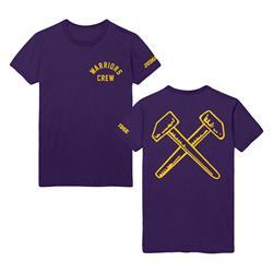 Warriors Crew Purple