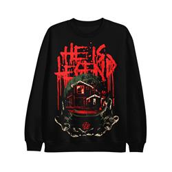 Krampus Black Crewneck