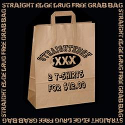 Straight Edge Drug Free Grab Bag
