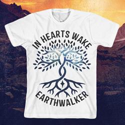 Earth Walker Pattern White