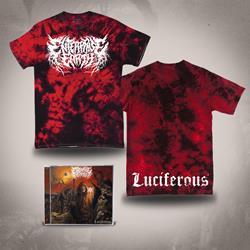 Luciferous CD + Luciferous Tie Dye T-Shirt