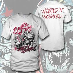 Wasted N Wounded White T-Shirt