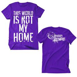 Not My Home Purple $6 Sale Final Print! $6 Sale
